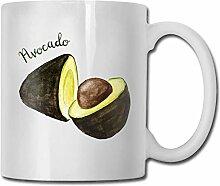 Leyhjai Porzellan Kaffeetasse Nuss Frucht Avocado