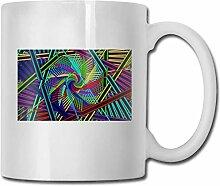 Leyhjai Porzellan Kaffeetasse Rotation Bright Line