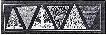 LEZ-Teppich Cool Black Trend Lange Tür Matte