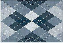 LEZ-Teppich Diamant Muster Design Teppich