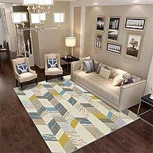 LEZ-Teppich Geometrische Streifen Chic Design