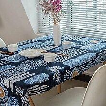 LF&F Ethnische Wind Tischdecke Hochwertige