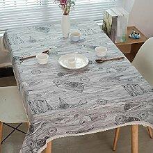 LF&F Moderne Country Stil Ring Holz Korn Leinen