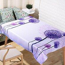 LF&F Tablecloth Tischdecke EuropäIsche Hochwertige BettwäSche Couchtisch Tuch Hotel Hausdekoration Tischdecken Universal Staub Tuch Mehrzweck Alle Gelegenheiten TischdeckeB140*220cm