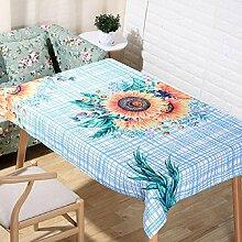 LF&F Tablecloth Tischdecke EuropäIsche Hochwertige BettwäSche Couchtisch Tuch Hotel Hausdekoration Tischdecken Universal Staub Tuch Mehrzweck Alle Gelegenheiten TischdeckeG140*160cm