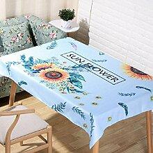 LF&F Tablecloth Tischdecke EuropäIsche Hochwertige BettwäSche Couchtisch Tuch Hotel Hausdekoration Tischdecken Universal Staub Tuch Mehrzweck Alle Gelegenheiten TischdeckeE140*180cm