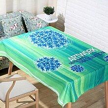 LF&F Tablecloth Tischdecke EuropäIsche Hochwertige BettwäSche Couchtisch Tuch Hotel Hausdekoration Tischdecken Universal Staub Tuch Mehrzweck Alle Gelegenheiten TischdeckeA90*90cm