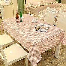 LF&F Tablecloth Tischdecke Luxus BettwäSche Tischdecke Couchtisch Tuch Mehrzweck-Handtuch Staubdicht Antifouling Maschinenwaschbar Geeignet FüR Casual Dining Haus Restaurant Café Hotel PartyB120*120cm
