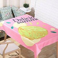 LF&F Tablecloth Tischdecke Neue Sommerfruchtmuster