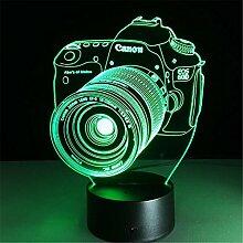 LF Nachtlichter, Kreative Geschenke Acryl Führte Augenlicht-Noten-Nachtlichter