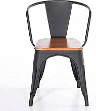 LF-Stühle Barhocker Massivholz Eisen Barhocker