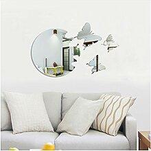 LFCELLZZ Schmetterling 3D Dekorative Spiegel