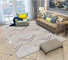 LFDDT Abstrakte Geometrische Kunst Teppich Für
