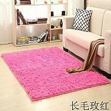 LFDDT Dicke Wäsche Einfarbig Teppich Für