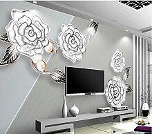 Lfgong Tapete 3D Wallpaper Für Zimmer Boutique
