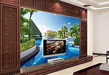 Lfgong Tapete 3D Wallpaper Moderne Für Wohnzimmer