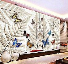 Lfgong Tapete Badezimmer 3D Wallpaper Vintage