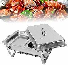 LFJD Chafing Dish Edelstahl Warmhaltebehälter |