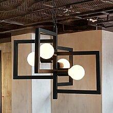 LFNRR American Restaurant Vintage Bar lampe Wohnzimmer Kronleuchter skandinavischen Schlafzimmer Studie Leiter bar Clothing Store Großhandel Kronleuchter