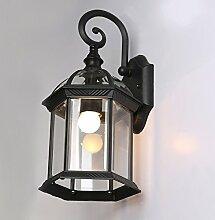 lfnrr Außen Wasserdicht Retro Wand lampe Wand lampe Balkon Lichter Lampen für die beste Qualitä