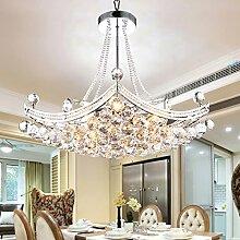 LFNRR Einfache Hängeleuchte Schlafzimmer moderne Kronleuchter Kristall Kronleuchter Lampe Restaurant 63*55cm Qualitativ hochwertige Produkte mit hoher Qualitä