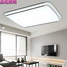 LFNRR Einfacher Stil Moderne minimalistische LED Lampe stilvolle rechteckigen Wohnzimmer Lampe Studie Lampe Schlafzimmer Esszimmer Deckenbeleuchtung