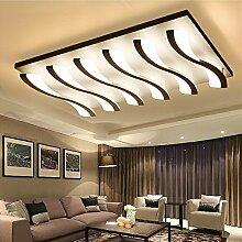 LFNRR Hochwertige LED-Deckenleuchten moderne, minimalistische Wohnzimmer Deckenleuchten acryl Lampe Beleuchtung im Schlafzimmer Deckenleuchte, die Verheißung, 6 81 W