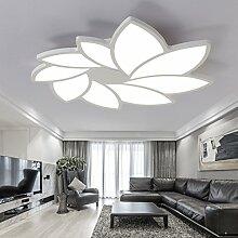 LFNRR hohe Qualität Hochzeit Haus LED Deckenleuchte Schlafzimmer Einfache und moderne Wohnzimmer Decke Lampe 55 cm Neutral Ligh