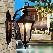 lfnrr Lichter im Freien im Freien Lampe Europäischen Stil Wand impermeabilizzano-Kirchenschiff Korridor Balkon Ville mit, Lampe Lampen-Die beste Qualitä