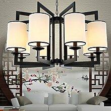 LFNRR neue Chinesische dekorative Lampe Kronleuchter Wohnzimmer chinesischen Lampen Lobby Restaurant Kronleuchter arbeitet die Leselampe Schlafzimmer 5
