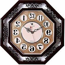 LFNRR Platz Einseitige Uhr stumm das Wohnzimmer10 Uhr Schöne Dekoration