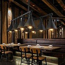 LFNRR Rohre wind Kronleuchter Lampe Lampen vintage Industrie Bügeleisen Loft Bar Restaurant Kronleuchter ohne Lich