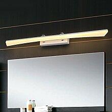 lfnrr Spiegel Lichter LED Nebel Wasserdicht A Bicolor D Feuchtigkeit Bad Badezimmer Wand Schminke leicht Licht in Edelstahl Spiegel Lampe energiesparend die beste Qualitä