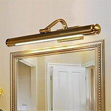 LFTABF LED-Spiegel Frontleuchte Retro einfache Bad Wandleuchte,A1(L67*H14CM)