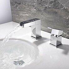 LFTS Badezimmer Wasserhahn Chrom, Waschbecken
