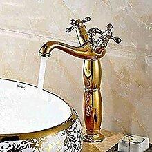 LFTS Wasserhahn kalt Messing Waschbecken