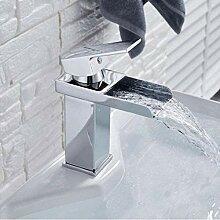 LFTS Wasserhahn Wasserfall Waschbecken Wasserhahn