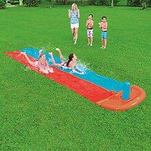 Lgan Wasserrutsche Gartenschlauch,Doppelte 5,5m
