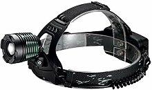 LGPNB Head LED Taschenlampe Superhelle Zoom CREE
