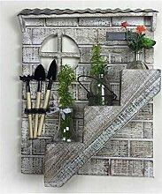 LGQ Pflanzenständer, Blumenständer Massivholz