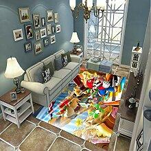 LGXINGLIyidian Teppich Süßer Super Mario 3D