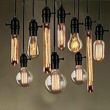 LGZLL Loft-Glühbirne, retro Glühbirnen,