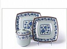 LH Antiquitäten Antiquitäten Blau und Weiß