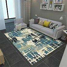 LH-RUG Designer-Rutschfeste rechteckige Teppiche