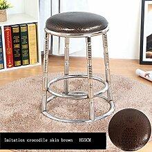 Lh$yu Moderne Küchenhocker mit Metallbeinen