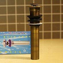 LHbox Alle Kupfer Antik Wasserhahn Waschtisch