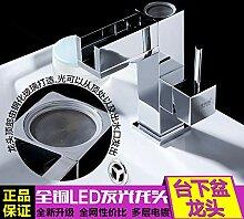LHbox Temperaturregelung Hahn Waschbecken Konsole