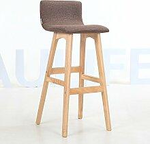 LHby Stuhl Rückenlehne Massivholz Bar Treppe Bar