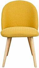 LHcy Esszimmerstuhl Massivholz Hocker Rücken Stuhl modernen einfachen Haushalt Stuhl Erwachsenen kreative Casual Coffee Shop Schreibtisch und Stuhl Esszimmerstühle (Farbe : D)