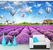LHDLily 3D Hintergrundbild Tapete Fresken